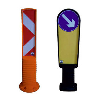 Delineator Bollard and Refuge Island Delineator