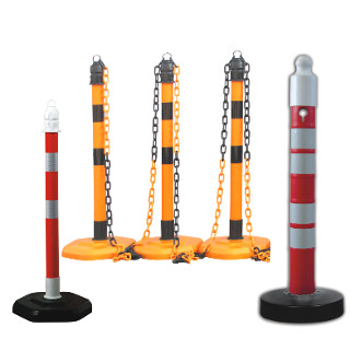 Post and Chain Barricades